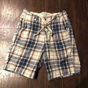 Men's Abercrombie & Fitch Plaid Shorts 32